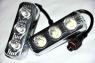 Фары дневного света Prime-X DRL-013 с линзами, с функцией поворотов и притухания