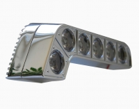 Фары дневного света Prime-X DRL-017 с линзами, с функцией поворотов и притухания