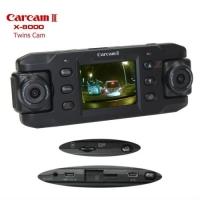 """Видеорегистратор """"Prime-X"""" X-8000 с GPS, ночной съемкой и двумя камерами"""