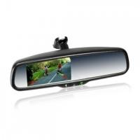 Штатное зеркало со встроенным видеорегистратором и цветным монитором 4.3 Prime-X 043D