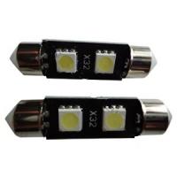 Светодиодная лампа Prime-X 2SMD-36мм CAN, с обманкой, софитная.