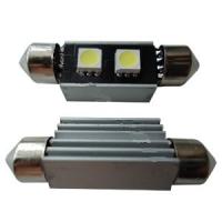 Светодиодная лампа Prime-X 2SMD-39мм CAN, с обманкой + радиатор, софитная.