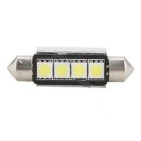 """Светодиодная лампа """"Prime-X"""" 4SMD-42мм CAN, с обманкой + радиатор, софитная."""