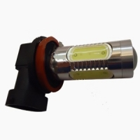 Светодиодная лампа H11-7W high power с линзой Prime-X