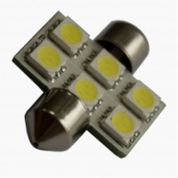 Светодиодная лампа Prime-X SV8.5-6, 36мм. Софитная.