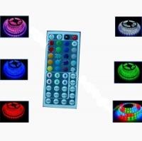 RGB лента 5050, 30 диодов на метр. Влагозащищенная, IP 68