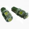 Светодиодная лампа Vizant Т10-5. Цокольная, безцокольная.