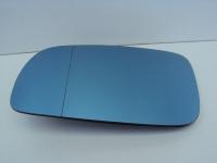 Стекло зеркала (вкладыш, зеркальный элемент) левый голубой Audi / VW / Seat / Skoda