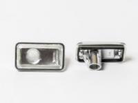 Повторители поворотов прозрачно - серебрянные Audi / VW