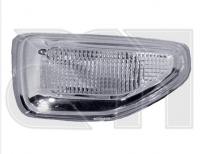 Указатель поворота на крыле правый белый  Renault Logan / Sandero 2013-